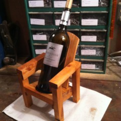 Miniature Adirondack Chairs Boston Rocking Chair Thoms Mini Wine Bottle Holder Jays