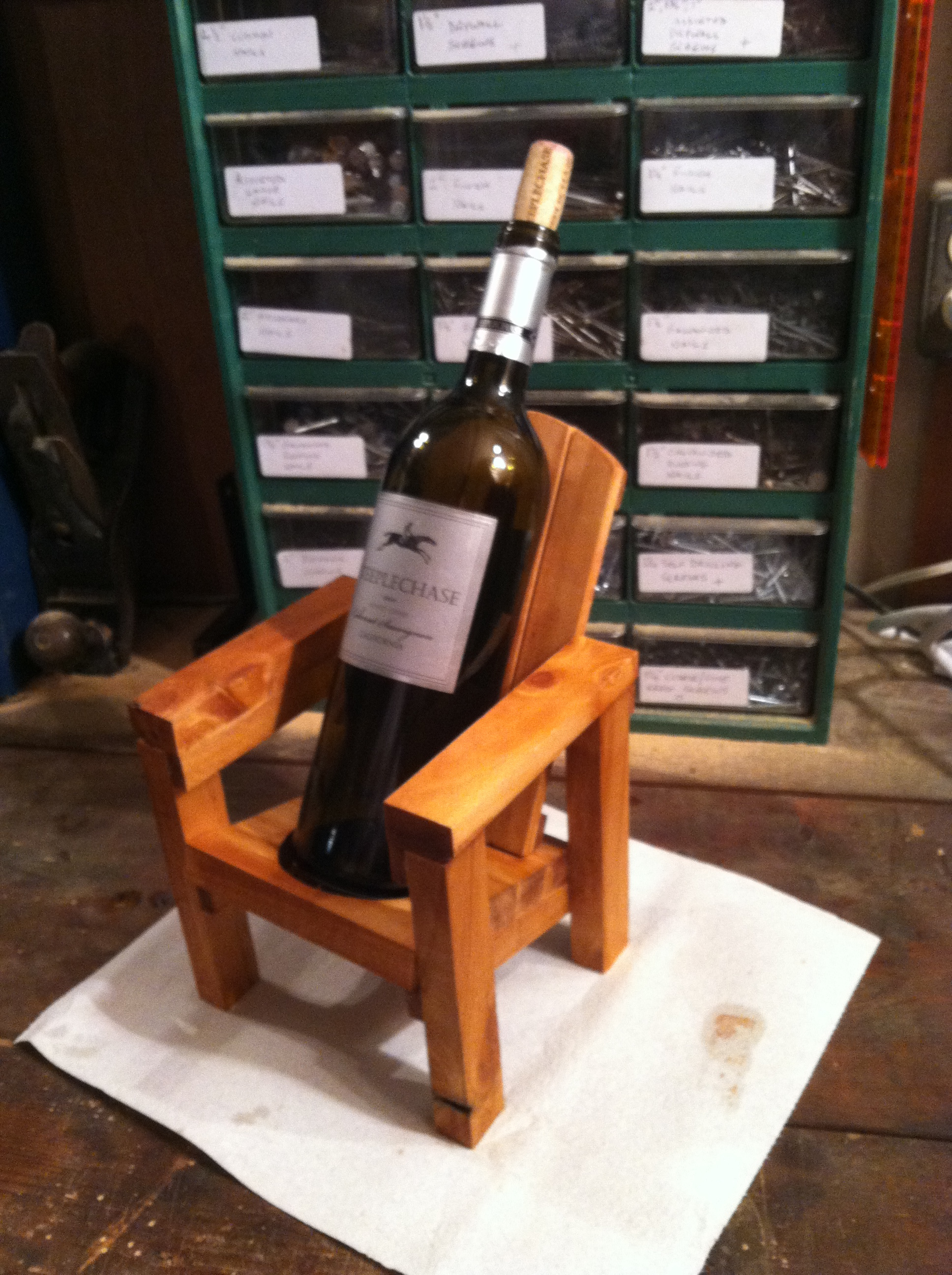 Mini Adirondack Chairs Thoms Mini Adirondack Chair Wine Bottle Holder Jays