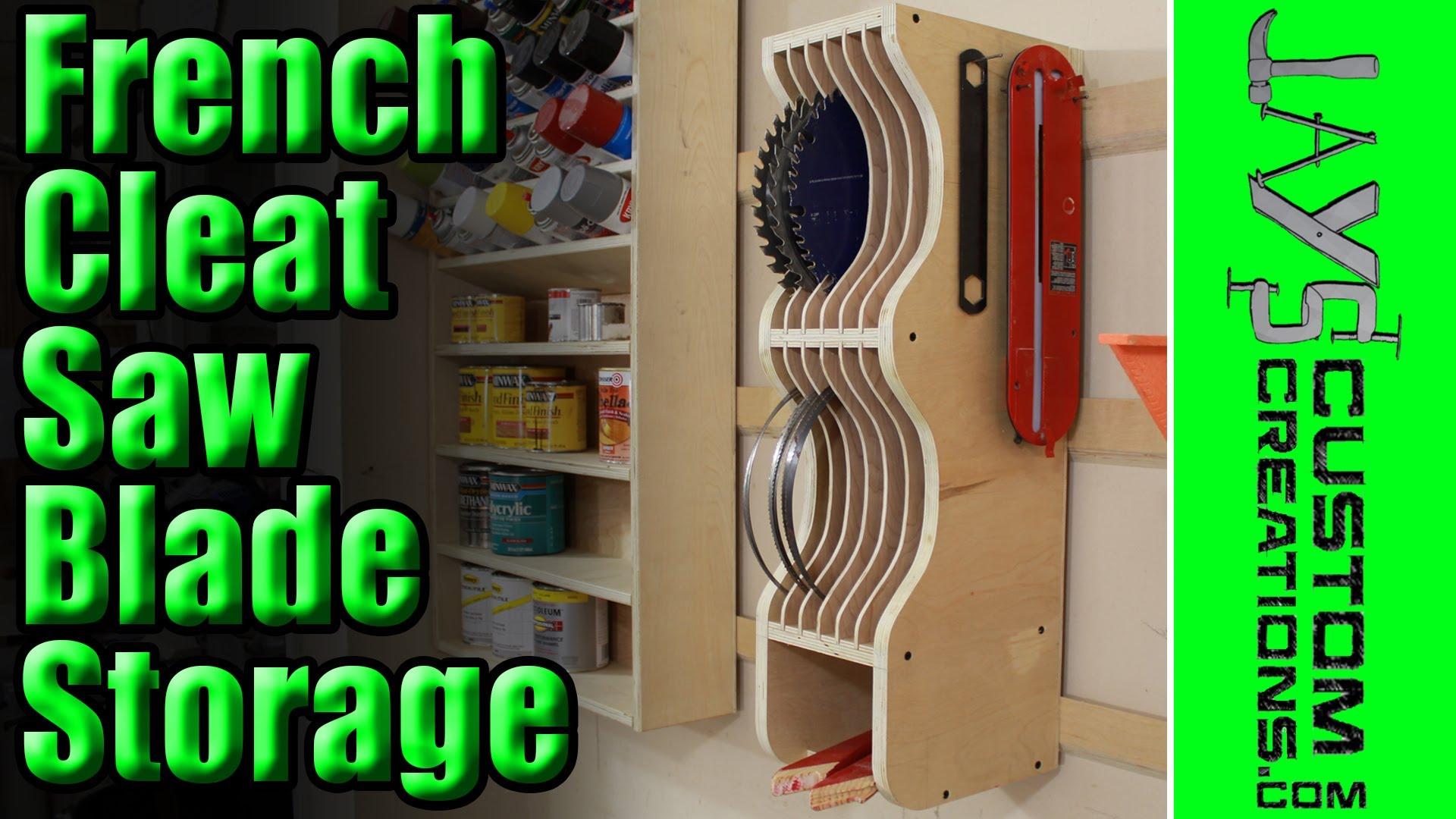 Circular Saw Storage