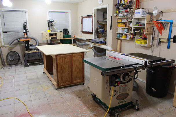 Table Saw Outfeed Table Ideas
