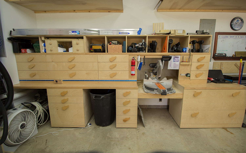 Small Woodshop Setup