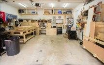 2 Car Garage Woodworking Shop Layout