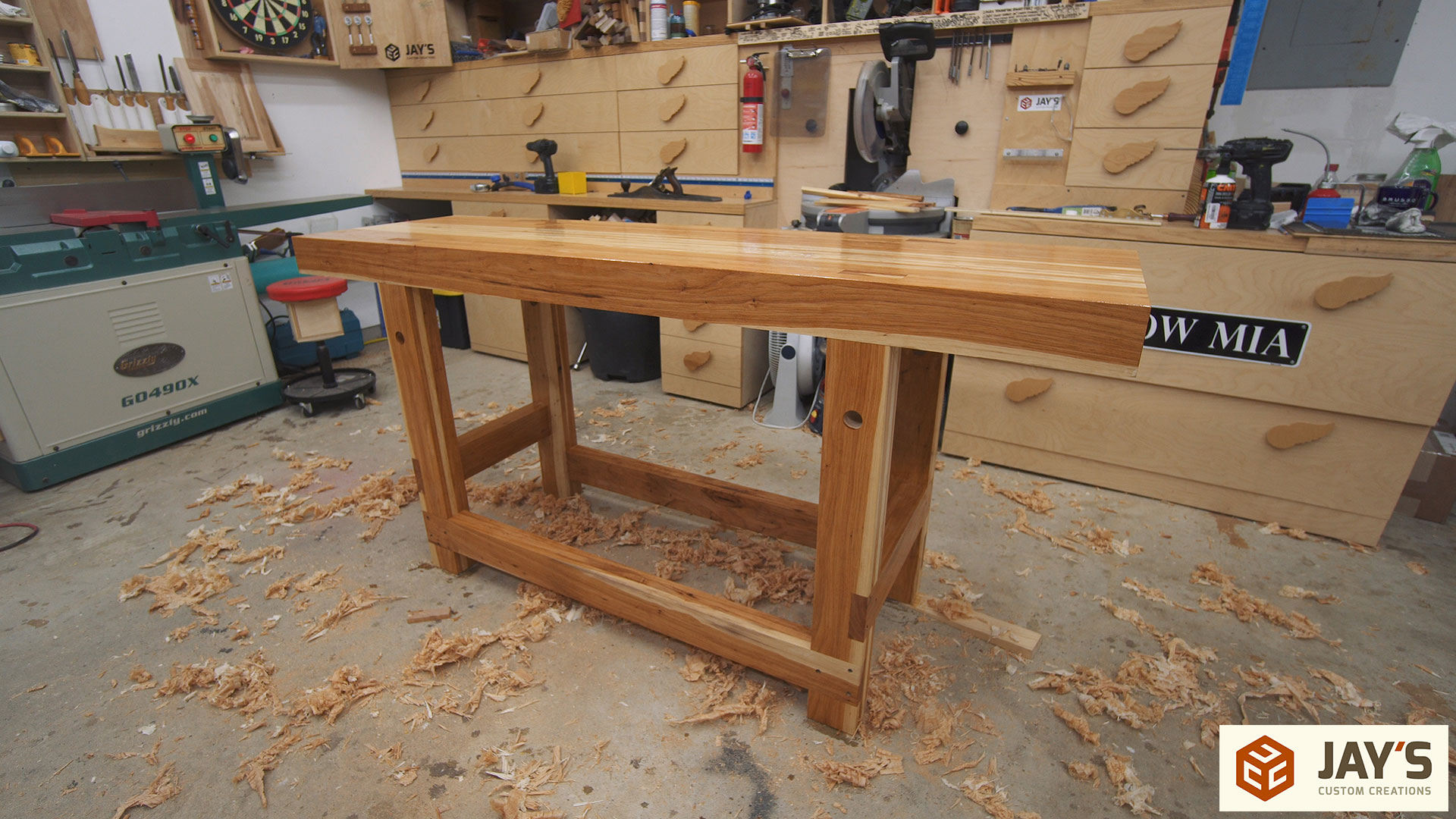 Hybrid Roubo Workbench
