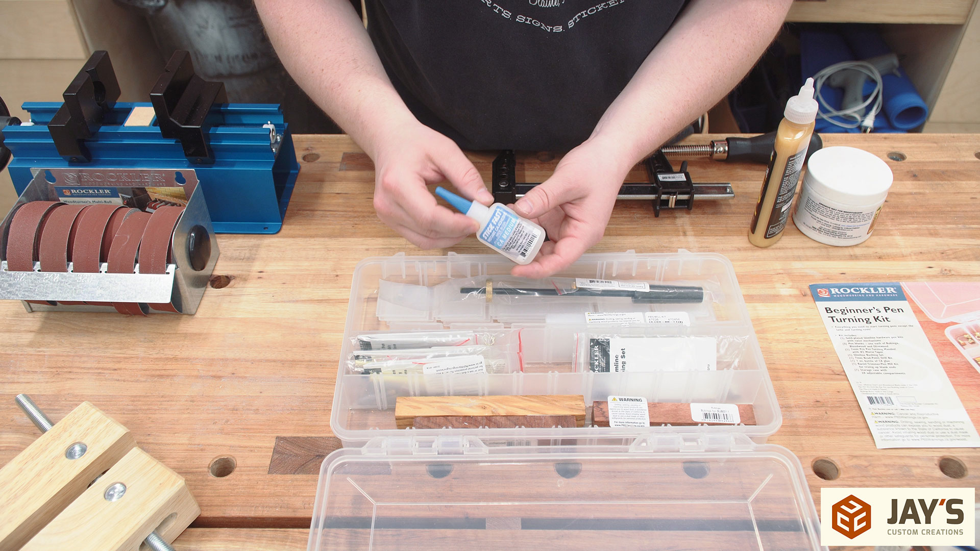 Tools For Pen Turning