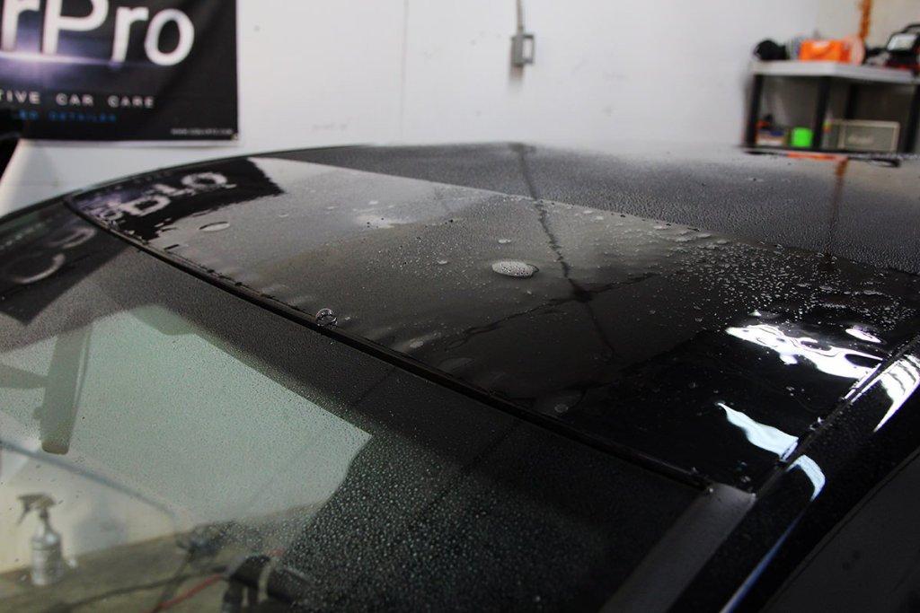 VW TDI Roof