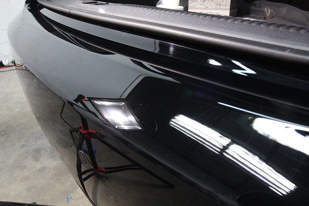 Audi A5 rear bumper
