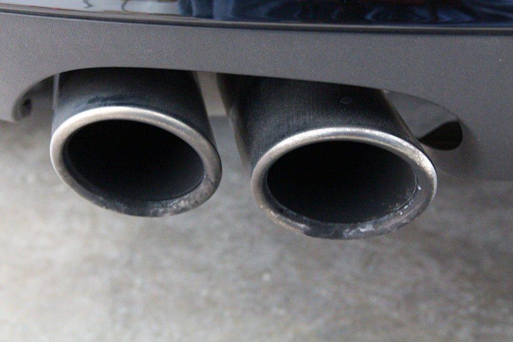 Audi A5 exhaust