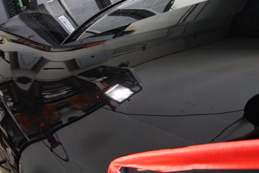 Audi S4 rear quarter after