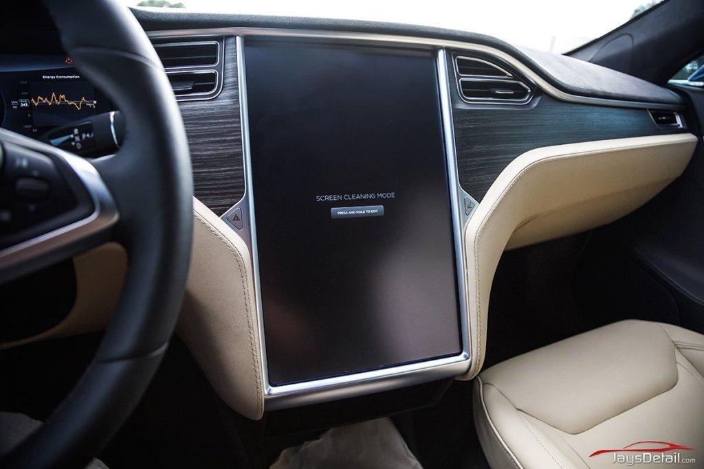 Tesla Glare Shield