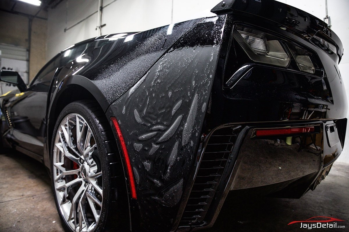 zo6 rear bumper side.