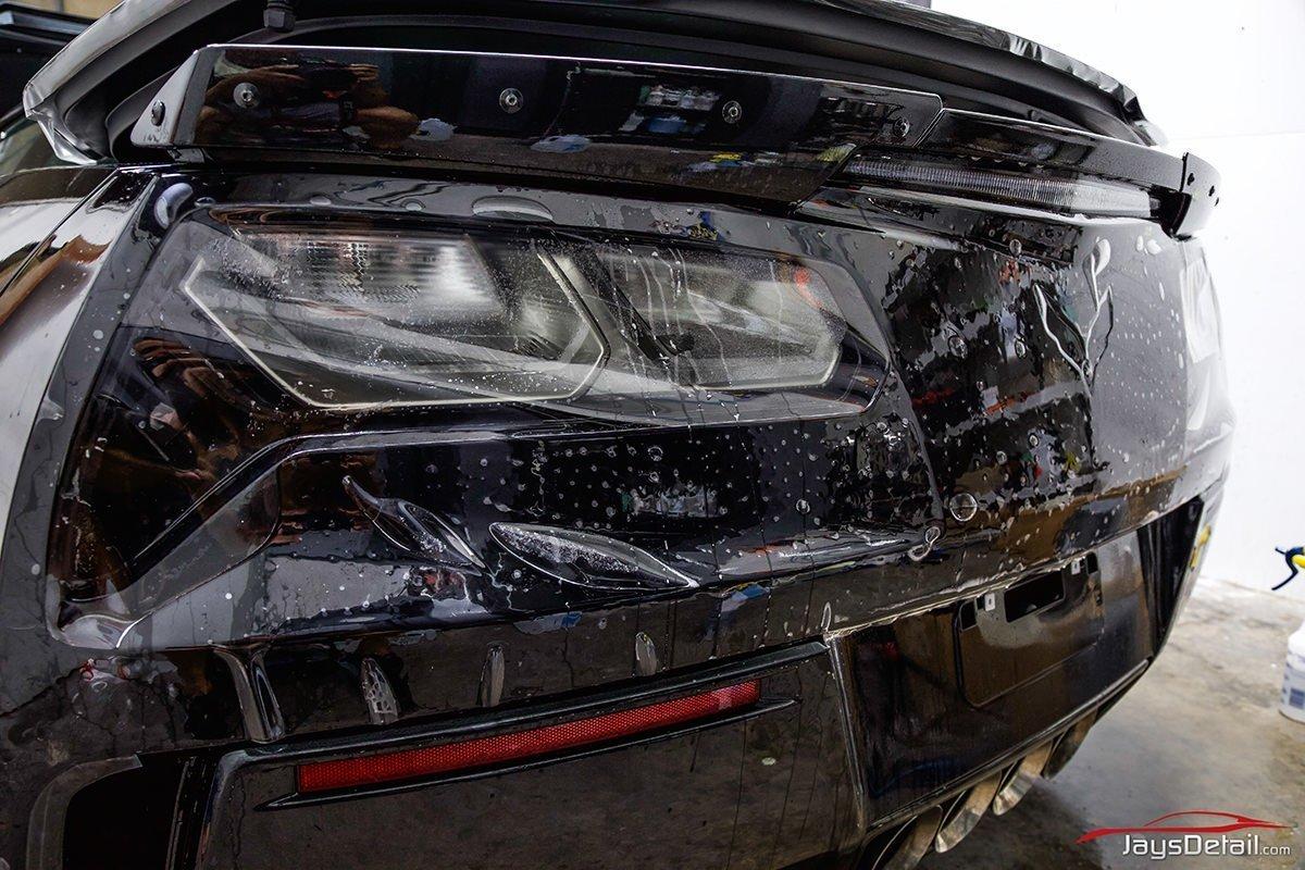 ZO6 rear bumper