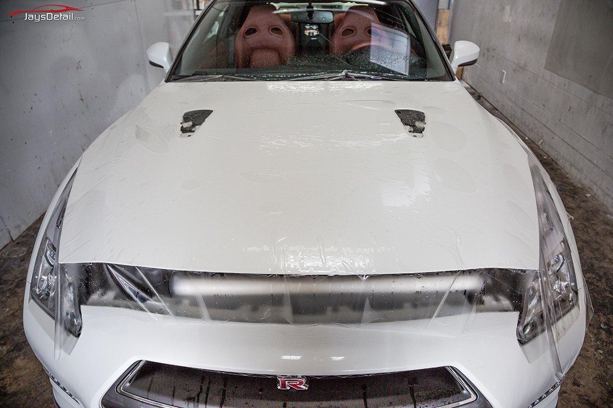 Nissan GTR Full hood