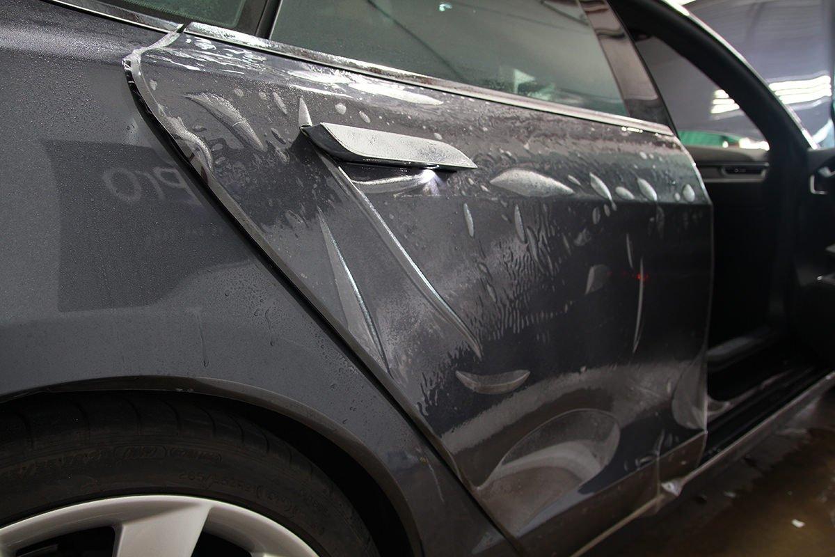 Tesla rear doors.