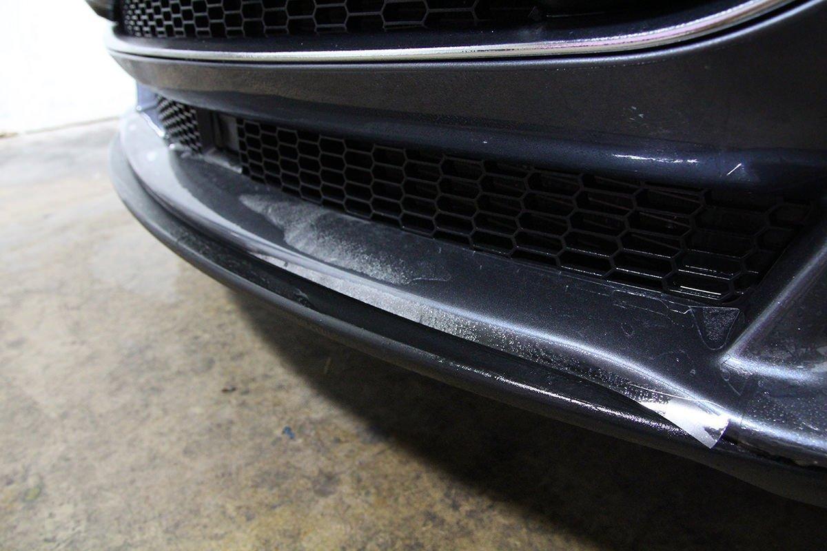 Tesla lower bumper