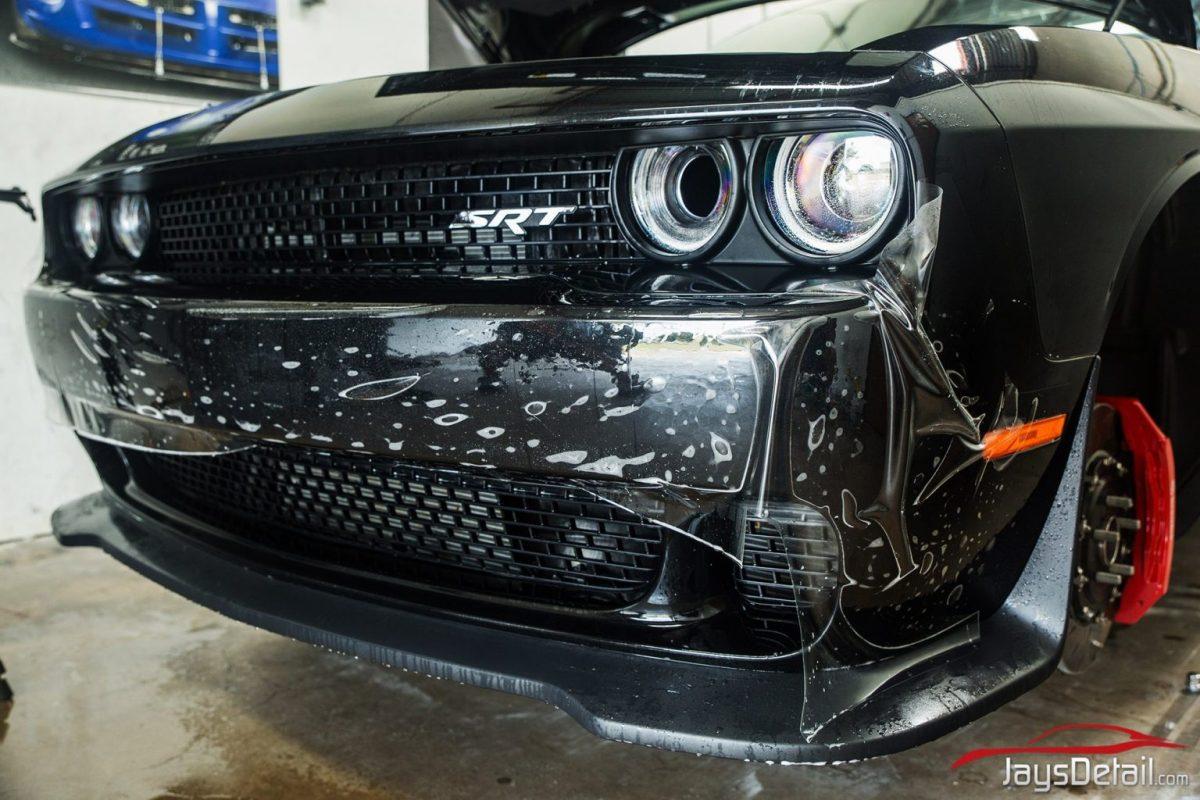 phantom black PPF bumper