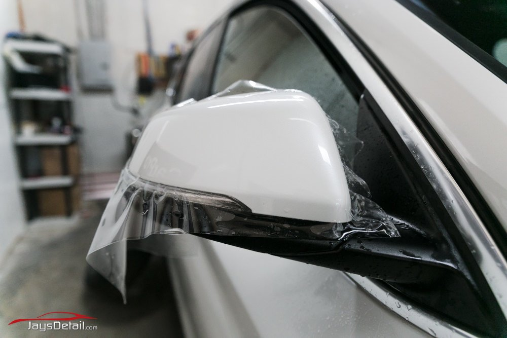 BMW X1 Clear Bra mirrors