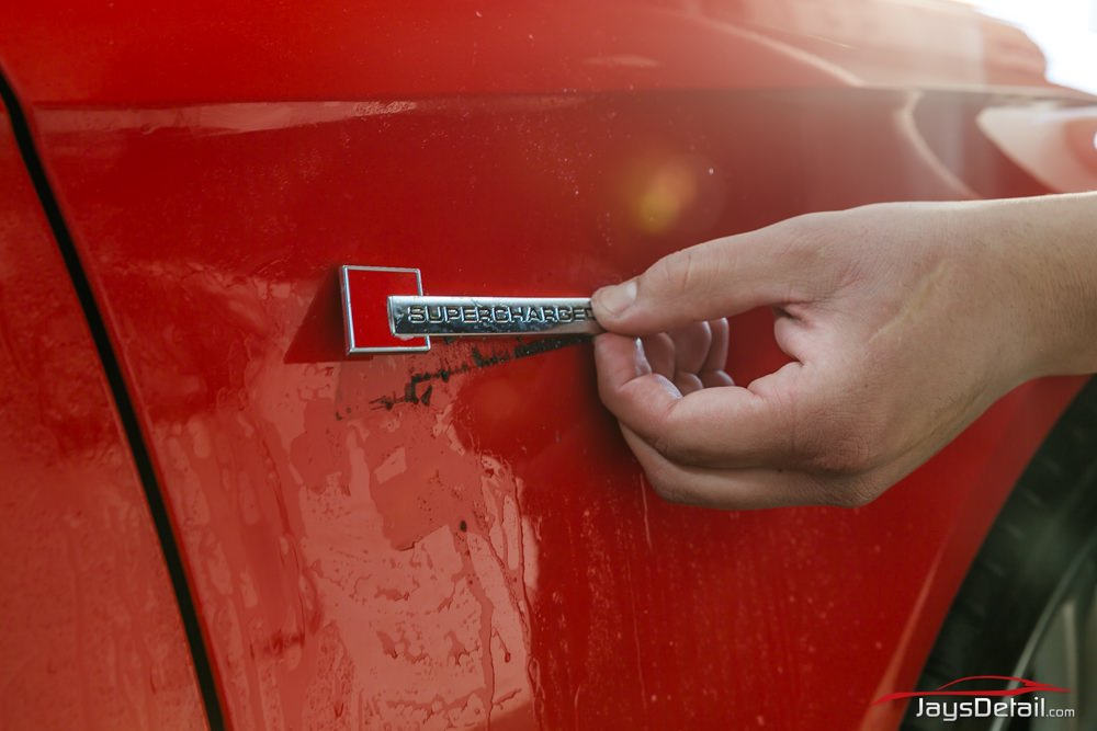 Audi S4 de badge