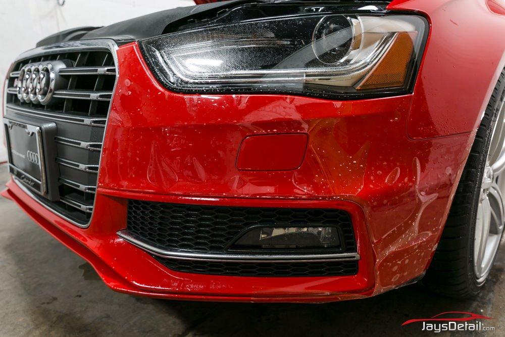 Audi S4 Clear Bra