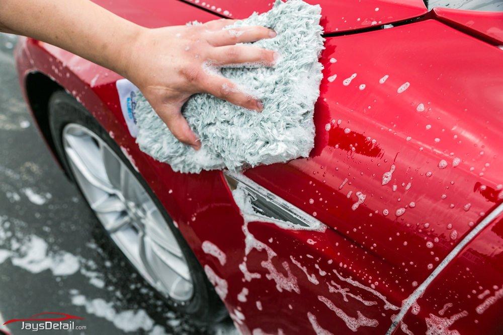 Tesla Model S wash