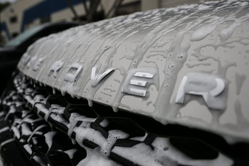 Car Protection for Range Rover 8