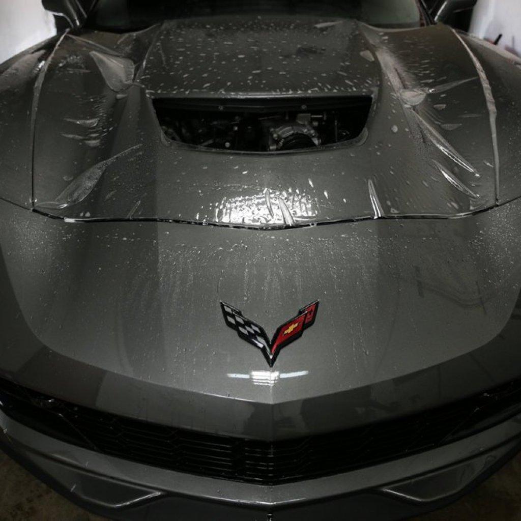 Menacing C7 Corvette Z06 gets Protected 3