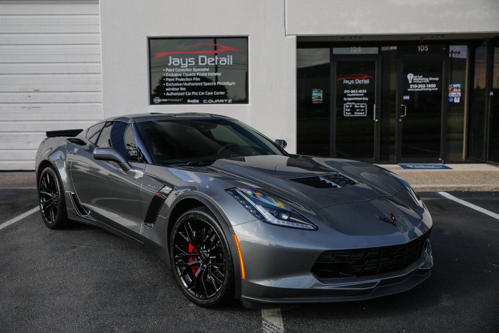 Corvette ZO6 Window Tint Gets Proper Tint Job