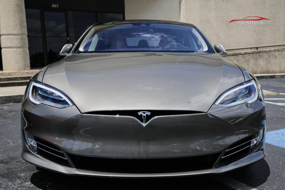 2016 Tesla Model S Gets Ultimate New Car Preparation