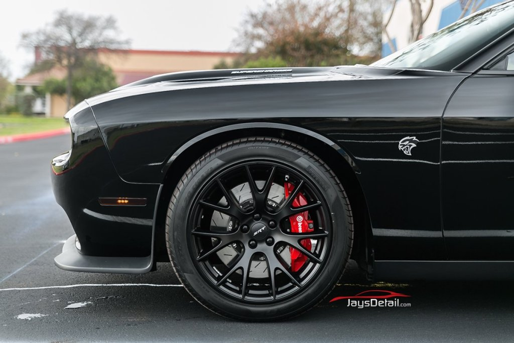 Dodge Hellcat Gets Ultimate New Car Prep - Jay's Detail 18
