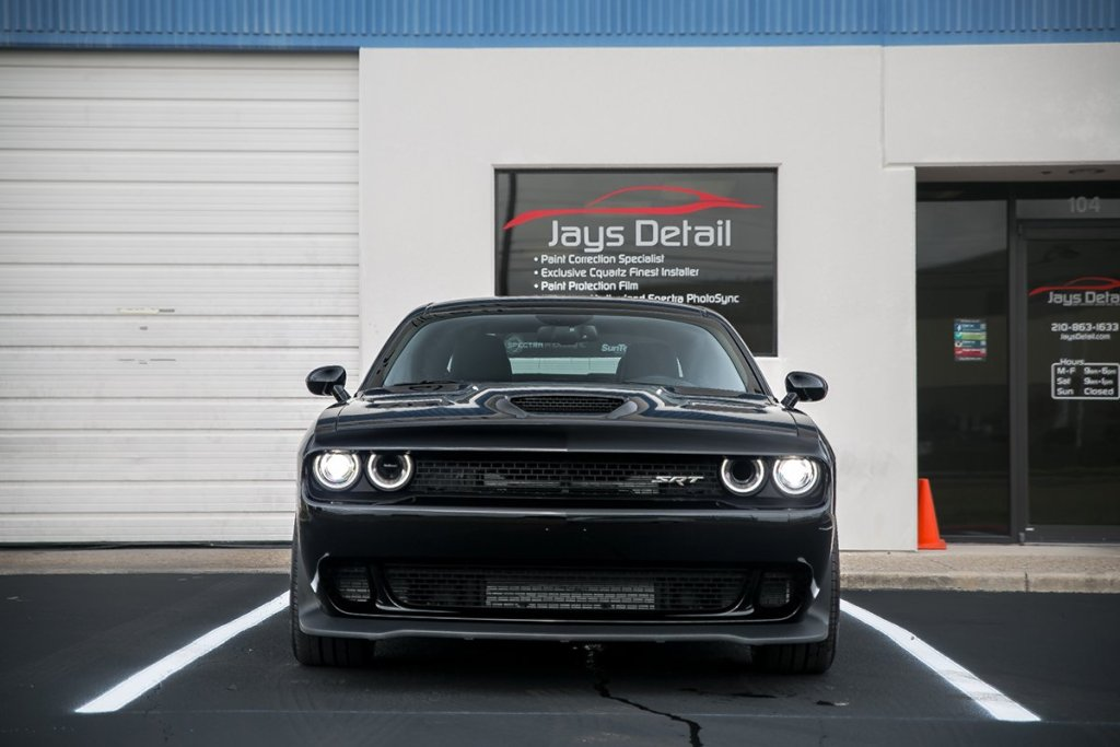 Dodge Hellcat Gets Ultimate New Car Prep - Jay's Detail 19