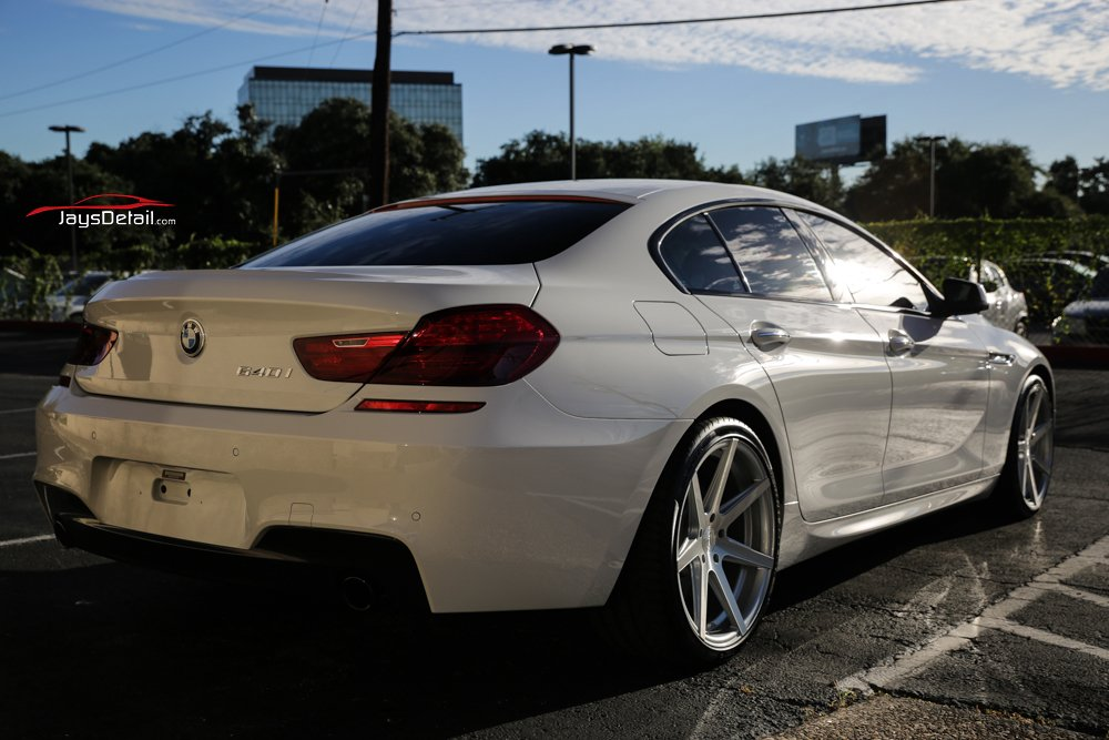 BMW 640i Gets Multistage Paint Correction and Ceramic Coating 2