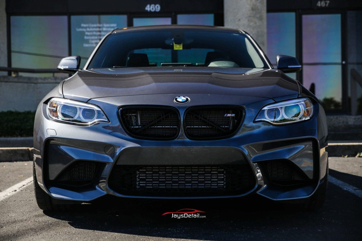 New BMW M2 Gets Custom Clear Bra and Tint from Jay's Detail