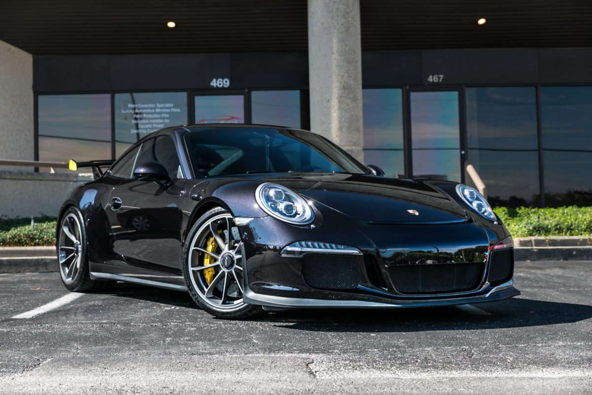 Porsche GT3 Receives Full Car Clear Bra & Quartz Ceramic Coating