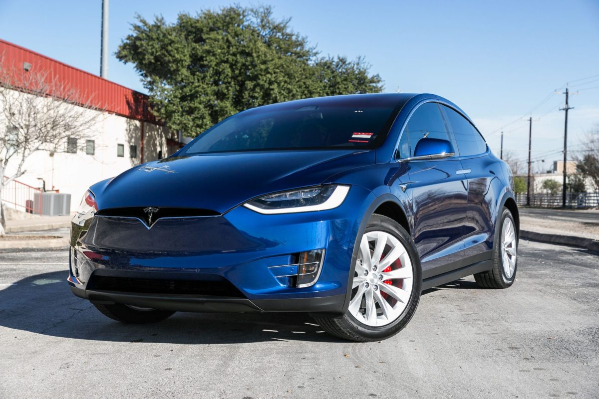 Tesla Model X 100D Treated to a Full Clear Bra, Cquartz Finest and More
