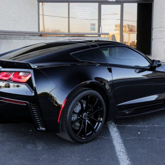 Corvette Grand Sport Gets Paint Correction and Protection