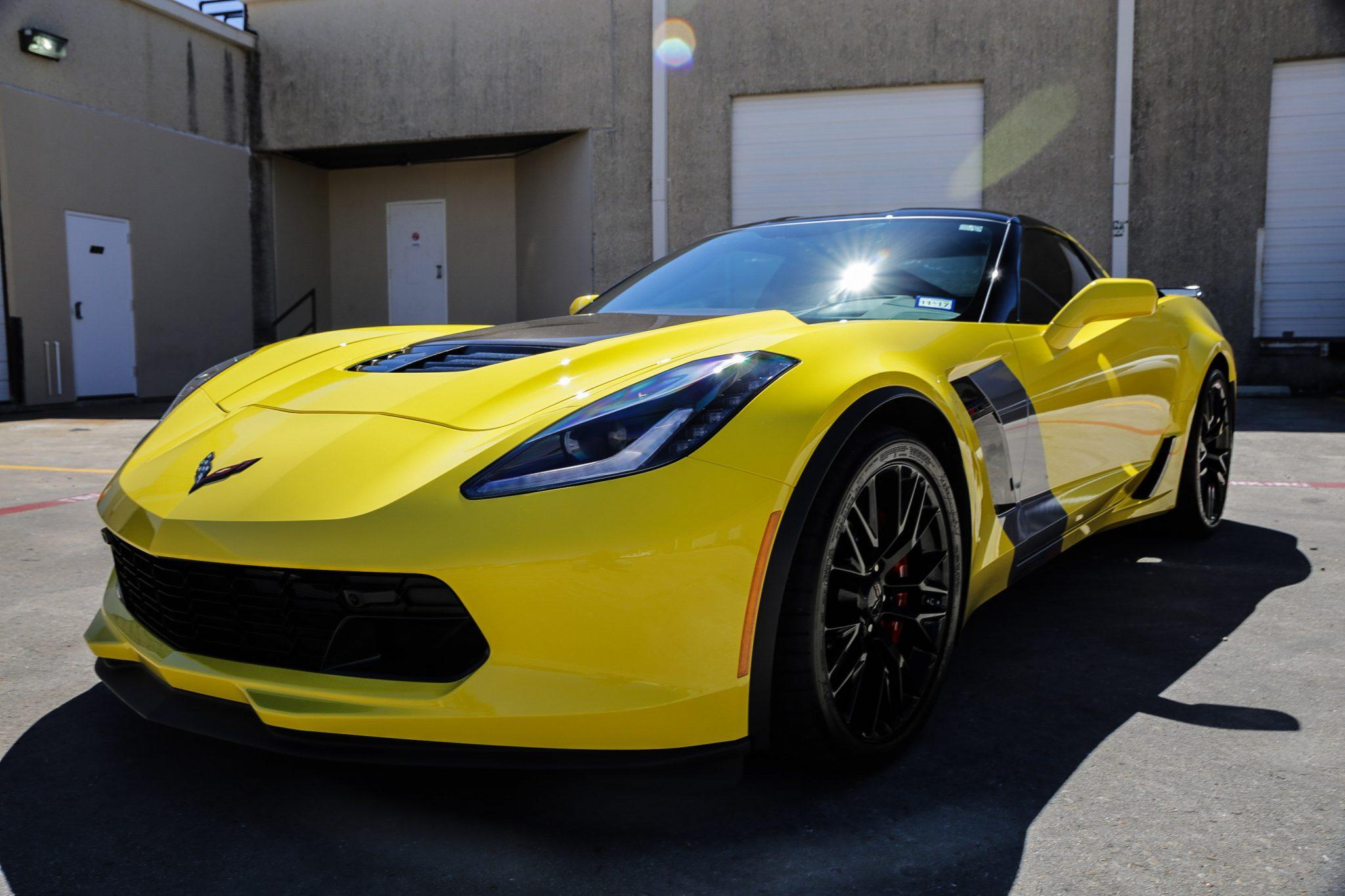 Corvette ZO6 Gets the SunTek Ultra PPF and CXP Window Tint