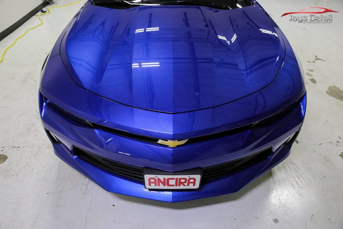 Poor Camaro Suffers from a Paint Correction Gone Wrong