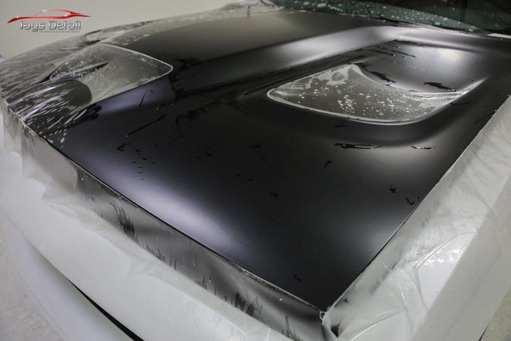 Hellcat Gets Custom Paint Protection with Suntek PPF & CQuartz Finest Reserve 10