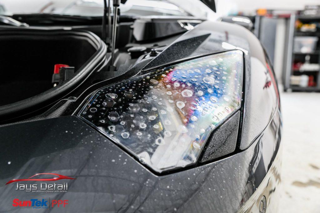 Lamborghini Aventador Perfectly Protected with SunTek Ultra PPF 3