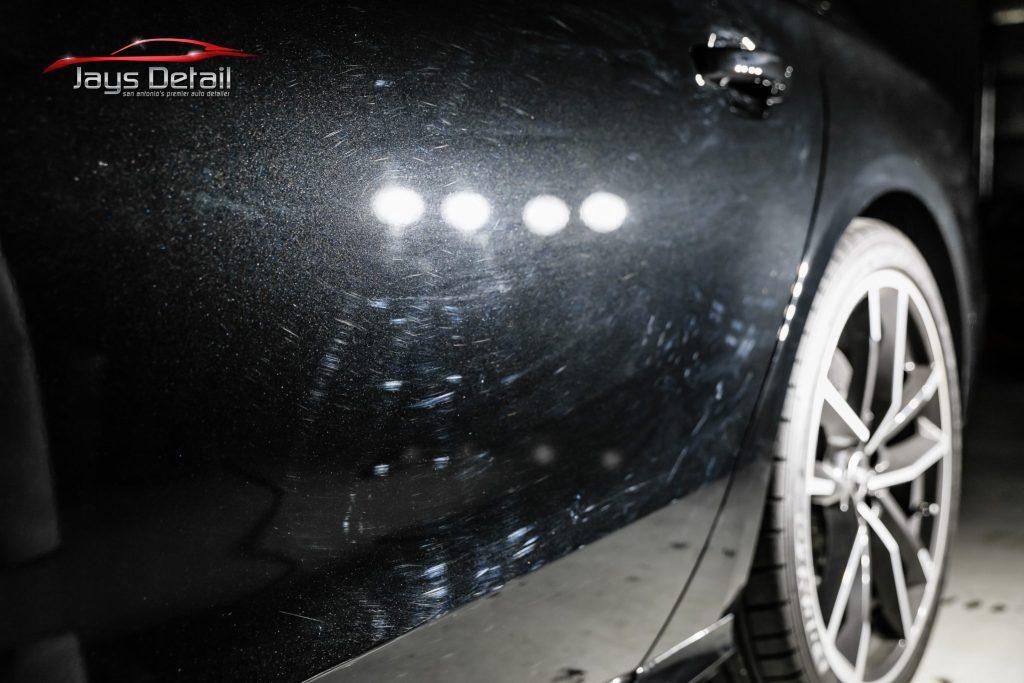Black Audi S8's Finish Resurrected & Protected with SunTek & Cquartz 5