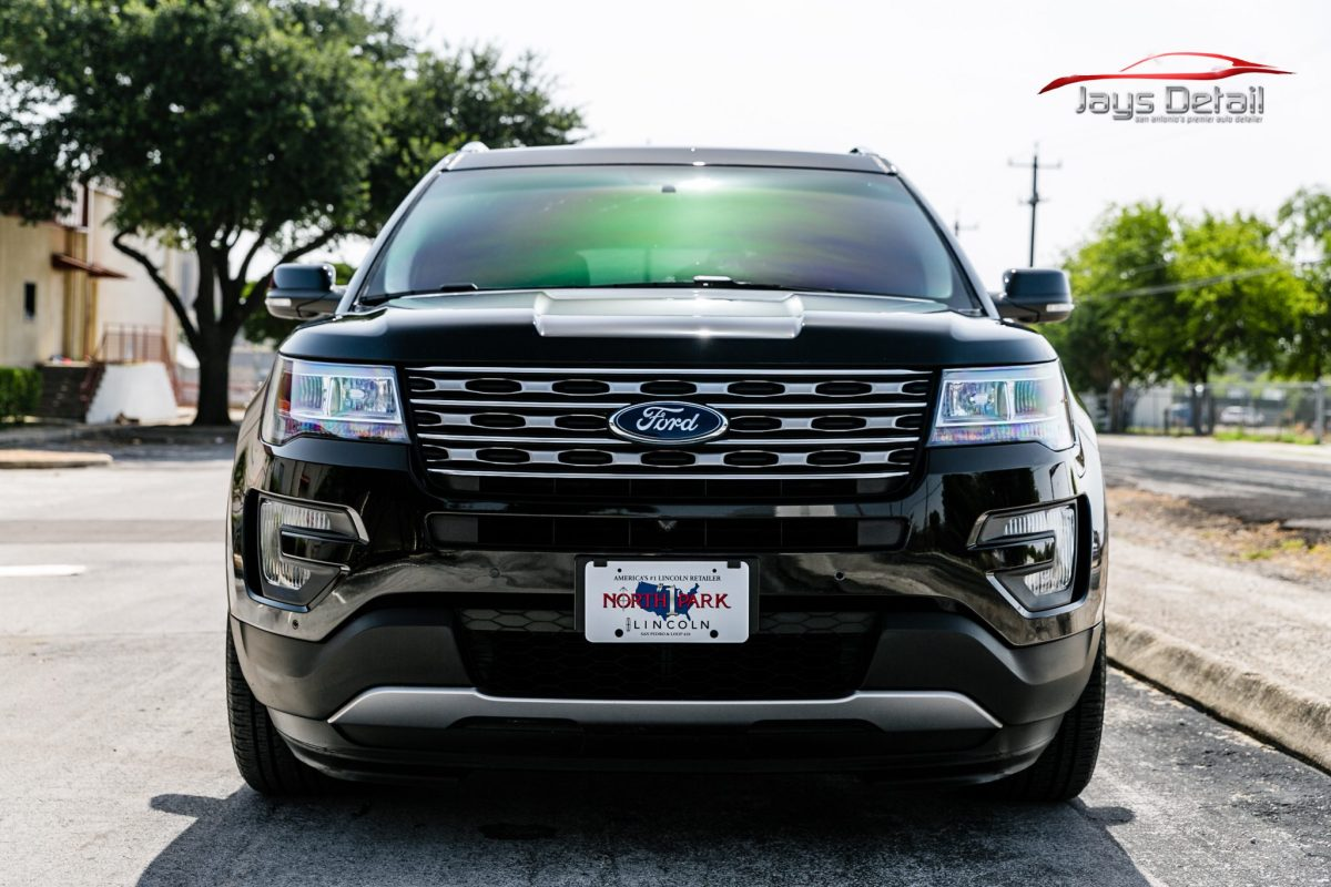 Ford Explorer Receives Economy New Car Prep from Jay's Detail
