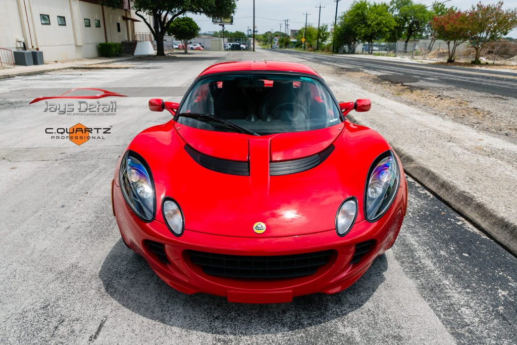 Lotus Elise Needs Mid-Life Facelift with Clear Bra Removal & Replacement - Paint Protection Film Removal San Antonio, Texas 13