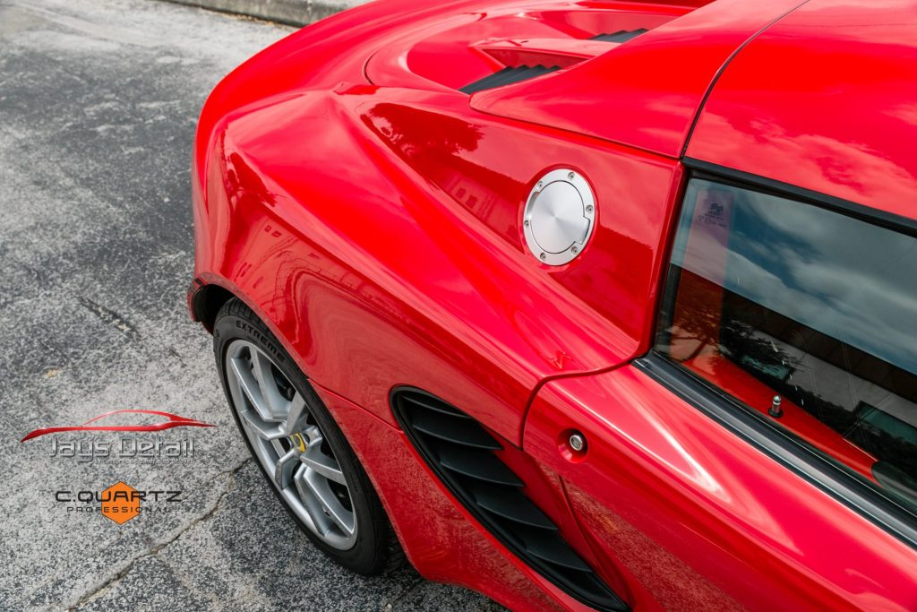Lotus Elise Needs Mid-Life Facelift with Clear Bra Removal & Replacement - Paint Protection Film Removal San Antonio, Texas 12