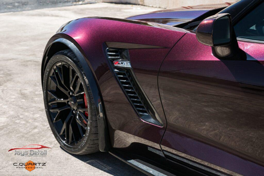 Chevrolet Corvette ZO6 Gets a Facelift Jay's Detail Studio Style 10