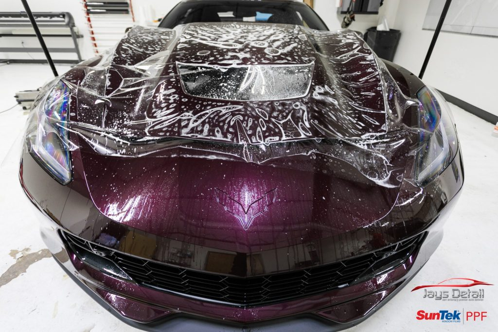 Chevrolet Corvette ZO6 Gets a Facelift Jay's Detail Studio Style 3