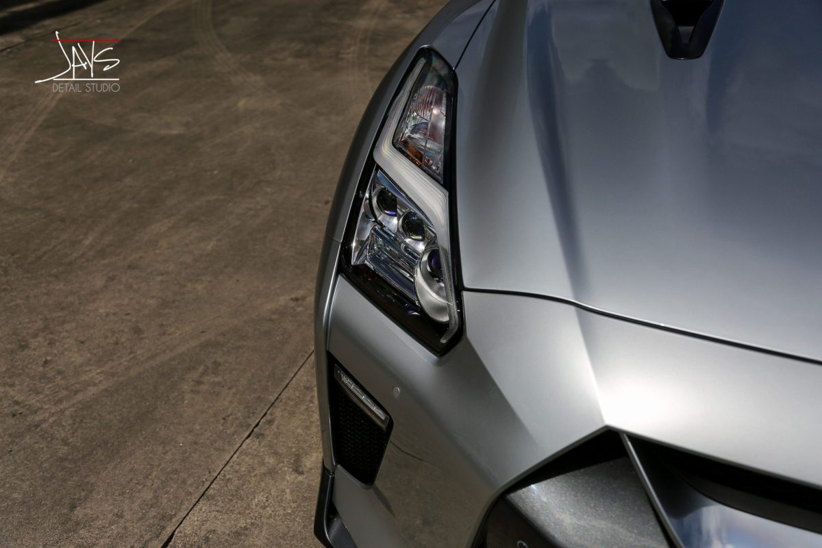 Tech Marvel Nissan GTR meets Paint Protection Technology