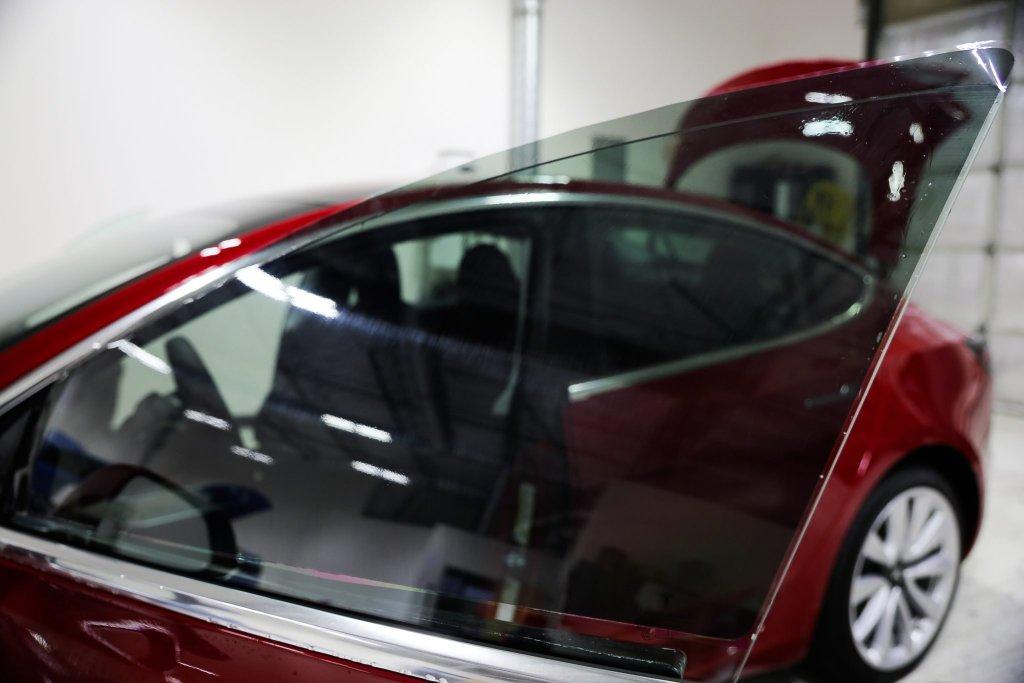Brand New Tesla Model 3 in for Jay's New Car Prep Service 3