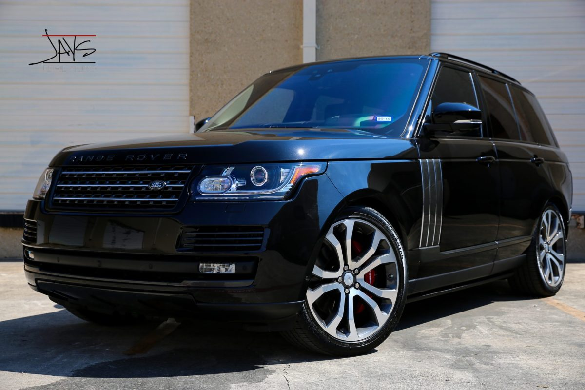 Range Rover Has Paint Corrected, Protected and Preserved