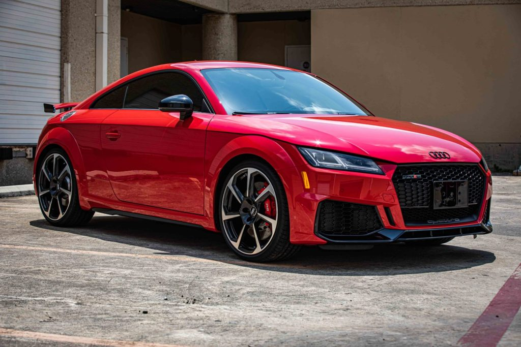 Audi TT RS Gets Window Tint, Paint Protection & Ceramic Paint Coating - Automotive Paint Coating Services in San Antonio, Texas