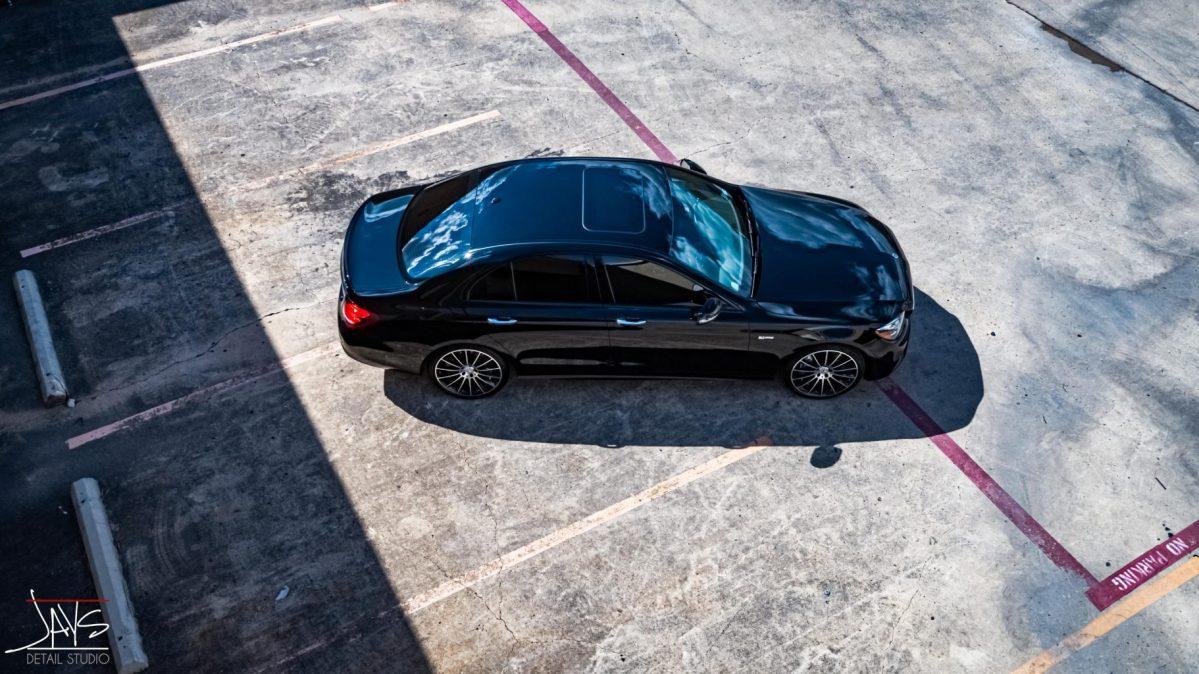 Mercedes E43 AMG Receives Paint Correction and Cquartz Coating 6