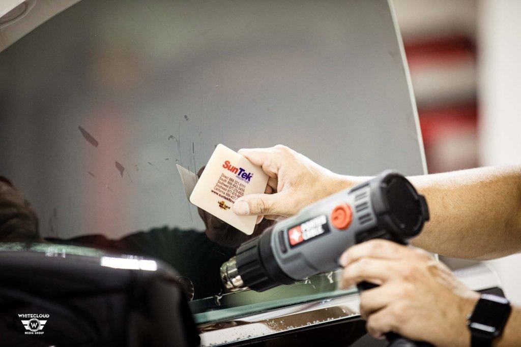 Tesla Model X Gets SunTek Ultra Defense PPF & CIR Window Tint 3